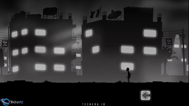 صحنه شروع بازی لیلا و سایه های جنگ