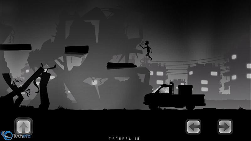 بازی لیلا و سایه های جنگ   شروع بمباران شهر
