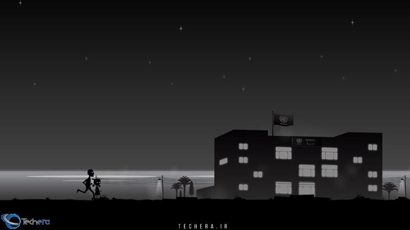 بازی لیلا و سایه های جنگ   مرگ کودکان در حال بازی در ساحل و ویران شدن مدرسه لیلا
