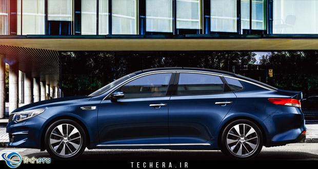 معرفی و بررسی اتومبیل  کیا اپتیما 2016 نسل جدید محصول شرکت کره ای کیاموتورز