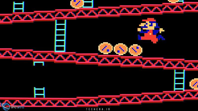 اولین حضور شخصیت ماریو ( Mario ) در بازی های کامپیوتری