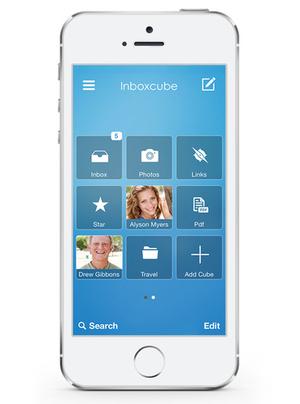 اپلیکیشن مدیریت ایمیل موبایل Inboxcube