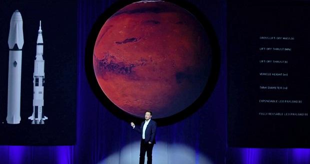 طرح بزرگ ایلان ماسک برای سفر به مریخ