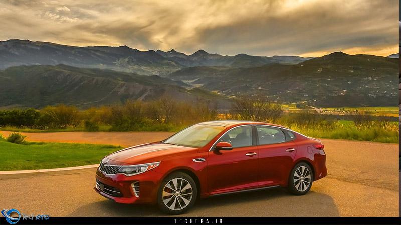 کیا اپتیما 2016 ، نسل جدید خودرو اپتیما شرکت کیا موتورز کره