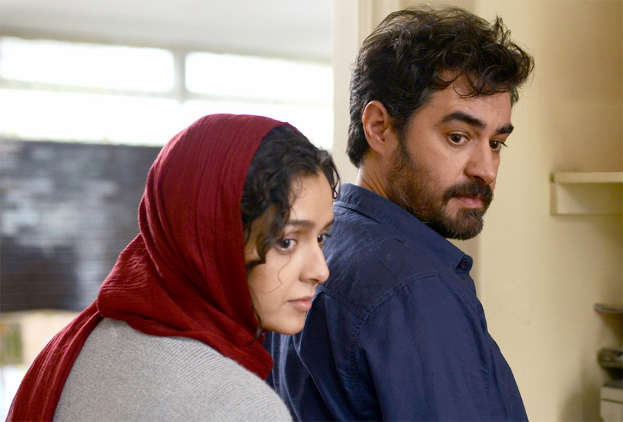 سکانسی از فیلم فروشنده یکی از بهترین فیلم های سینمای اجتماعی ایران با بازی تاثیرگذار شهاب حسینی و ترانه علیدوستی