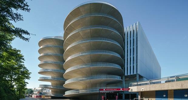 سازه ی عظیم بتنی مارپیچی، پارکینگ طبقاتی مرکز کنوانسیون رای آمستردام خواهد بود
