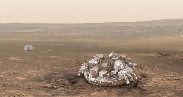 کاوشگر شیاپارلی آژانس فضایی اروپا، برای سفر به مریخ آماده می شود