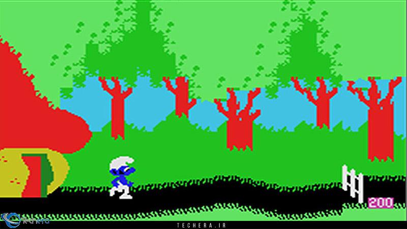 بازی Smurf : Rescue in Castle Gargamel