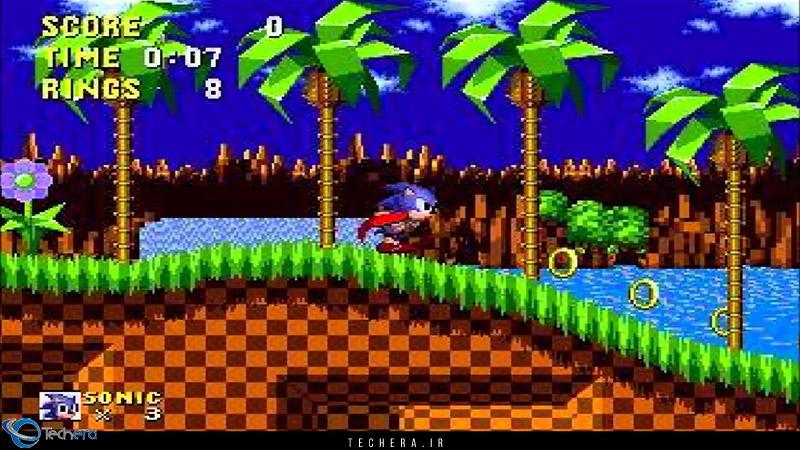 اولین بازی از سری بازی های محبوب سونیک محصول شرکت سگا