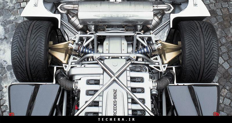موتور AMG شرکت مرسدس بنز | قلب تپنده زوندا