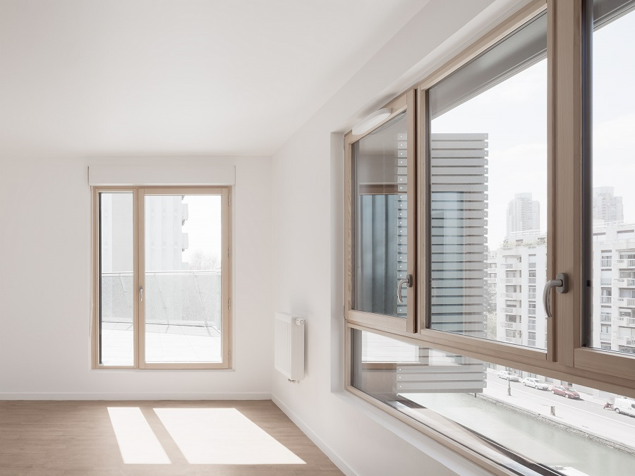 آپارتمان های یک یا دو خوابه بلوک مسکونی کراویتز، دارای نمای مجزای کانال لورک و باغ هستند