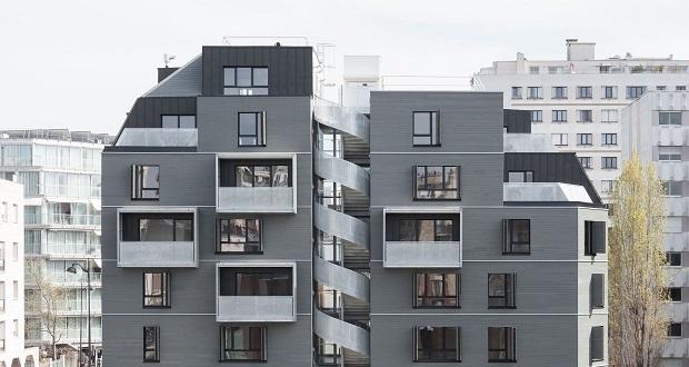 بلوک مسکونی در حاشیه پاریس از استودیوی معماری کراویتز