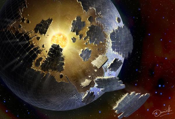 دیواره موجودات فضایی