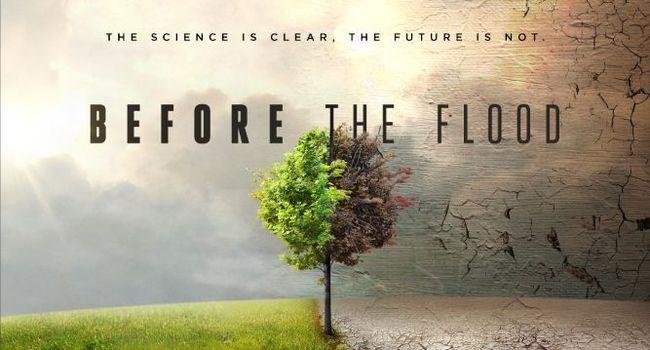 """پوستر تبلیغاتی مستند """"قبل از سیل"""""""