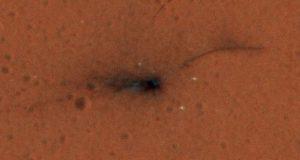 آژانس فضایی اروپا اولین عکس رنگی از محل سقوط کاوشگر شیاپارلی را منتشر کرد
