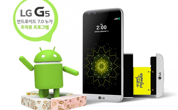 سیستم عامل اندروید 7 برای گوشی هوشمند LG G5 در کشور کره جنوبی منتشر شده است. بروزرسانی جدید LG G5 به زودی و در اوایل آذر ماه در کشور ایران منتشر خواهد شد.