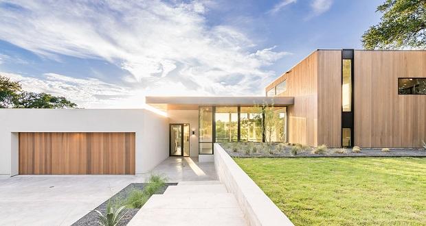 خانه کروشه ای آستین از استودیوی معماری مت فایکوس