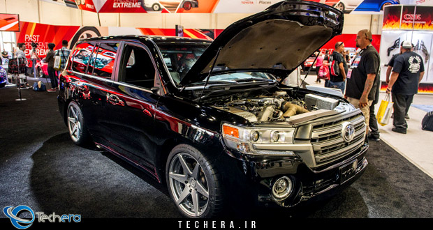 تویوتا لندکروزر توربو ، سریعترین SUV جهان با قدرت 2000 اسب بخار