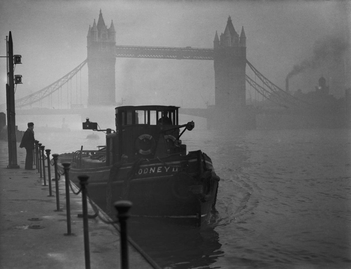 """واقعه مه دود بزرگ لندن باعث شد بالاخره پس از بحث های مختلف، """"لایحه هوای پاک"""" در پارلمان به تصویب برسد."""
