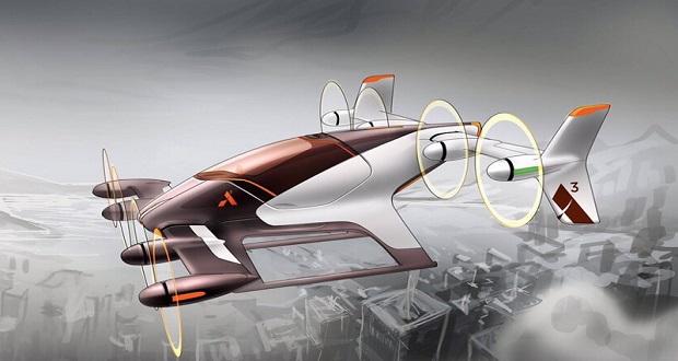 ماشین پرنده اوبر در راه است؛ صنعت حمل و نقل در حال تحول!