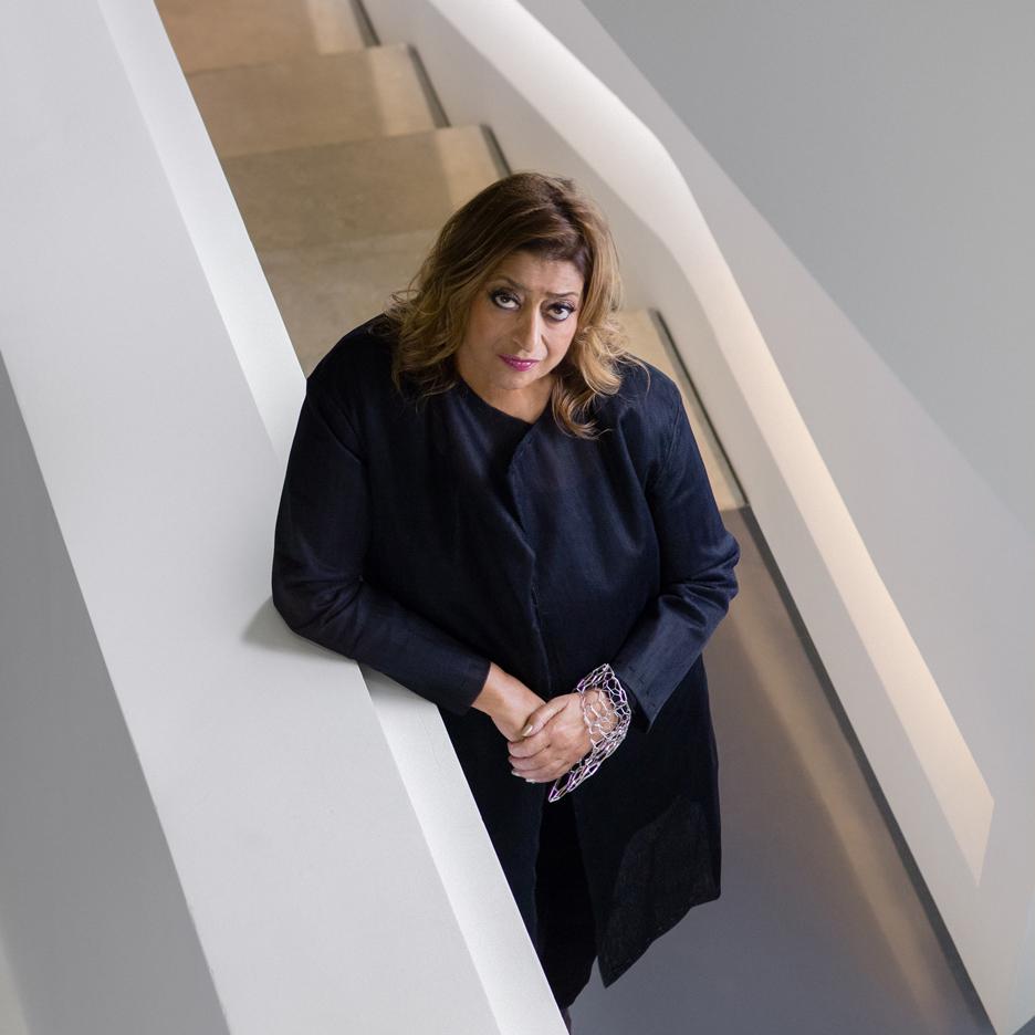 تندیس طراحی زاها حدید در جایزه بریتز امسال به برندگان اهدا خواهد شد