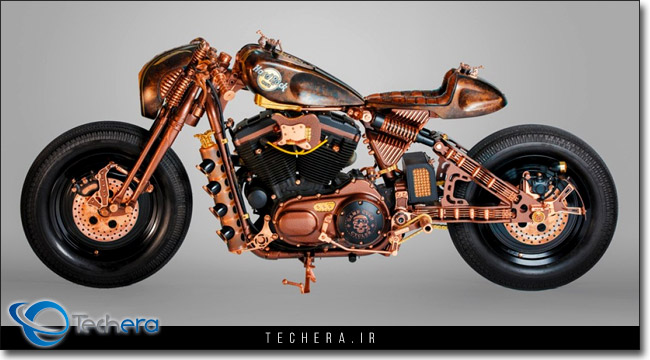 موتورسیکلت Hard Rock Cafe شهر کراکف لهستان ساخت شرکت Game Over Cycles