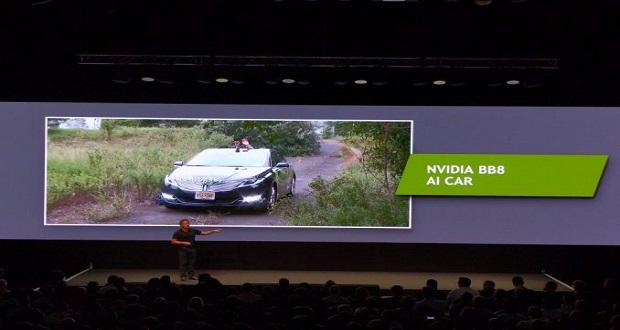 انویدیا تکنولوژی خودروی بدون راننده خود را در کالیفرنیا آزمایش میکند