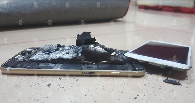 انفجار آیفون 6s هنگام شارژ؛ آیا بخت بد نوت 7 گریبان این گوشی را نیز خواهد گرفت؟