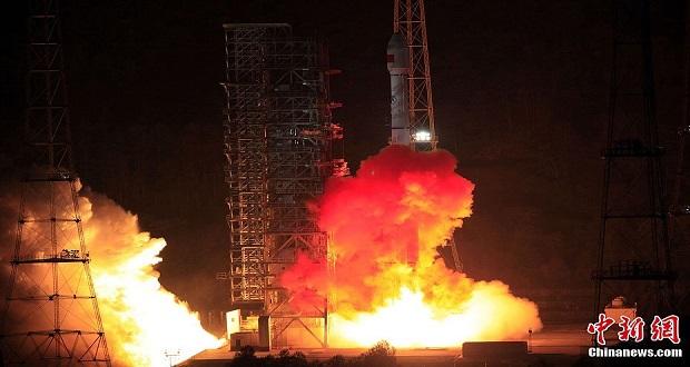 چین ماهواره نظارت بر میزان دی اکسید کربن خود را به فضا فرستاد