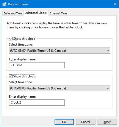 چگونه ساعت های چندین منطقه زمانی در ویندوز 10 را اضافه کنیم؟