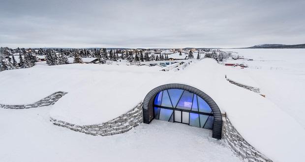 هتل یخی ۳۶۵ ؛ پذیرشی سرد در هتل یخی که هرگز ذوب نمی شود!
