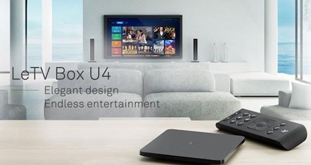 کمپانی لیکو، تی وی باکس LeTV Box U4 را معرفی کرد