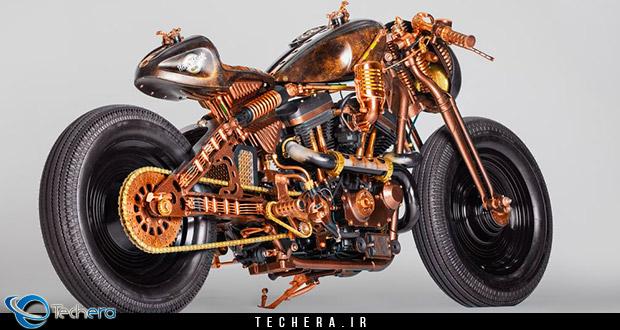 موتورسیکلت جدید شرکت Game Over ، زلزله ای در هارد راک کافه