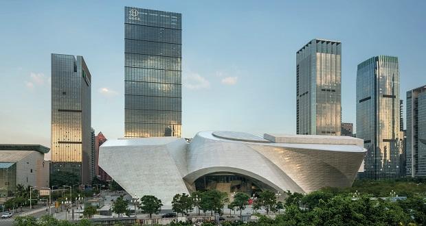 مجموعه هنری شنزن چین از استودیوی معماری کپ هیملبلاو