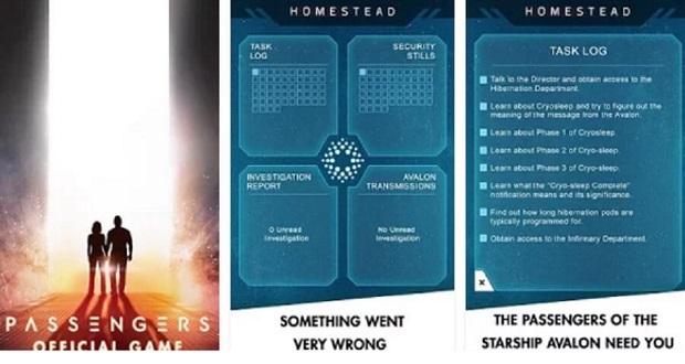 بازی مسافران ؛ بازی برگرفته از فیلمی به همین نام، اکنون برای دستگاه های اندروید و آی او اس منتشر شده است.