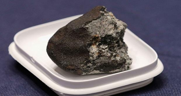 یک کریستال بسیار نادر، دورن شهاب سنگی در روسیه کشف شد