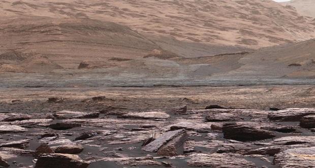 عکس های جدیداز کاوشگر کریاسیتی ، صخره های بنفش را در مریخ نشان می دهد