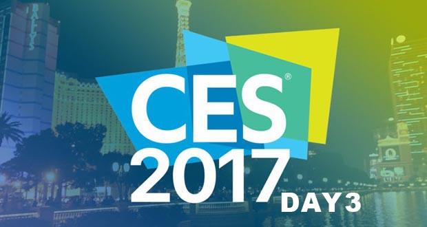 جدول زمانبندی معرفی محصولات در نمایشگاه CES 2017 (روز سوم)