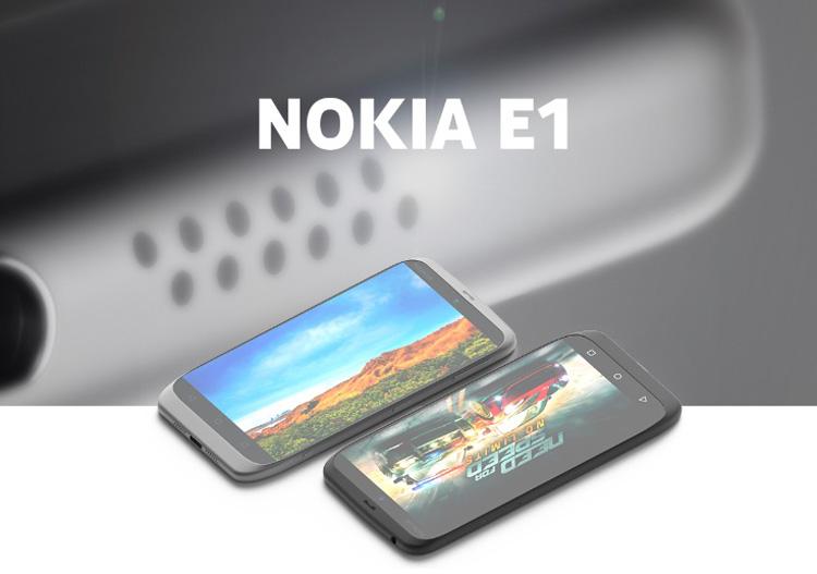 گوشی جدید شرکت نوکیا، Nokia E1 به زودی در کنگره جهانی موبایل در شهر بارسلونا معرفی خواهد شد. مشخصات سخت افزاری گوشی Nokia E1 لو رفته است.