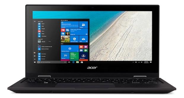 لپ تاپ تراول میت اسپین بی 1 ایسر با صفحه نمایش 360 درجه ای رونمایی شد