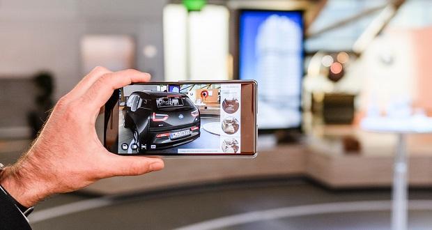 همکاری بی ام دبلیو با گوگل؛ BMW i3 خود را با واقعیت افزوده بسازید!