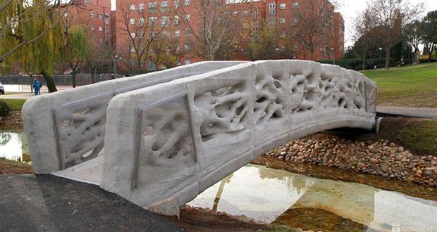 اولین پل با پرینتر سه بعدی در کاتالونیا ساخته شد