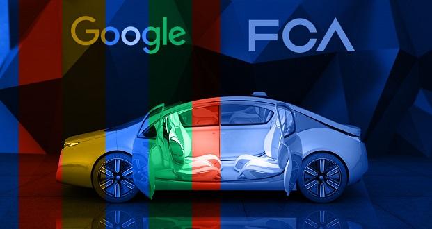 نمایشگاه CES 2017 : همکاری گروه خودروسازی فیات با گوگل