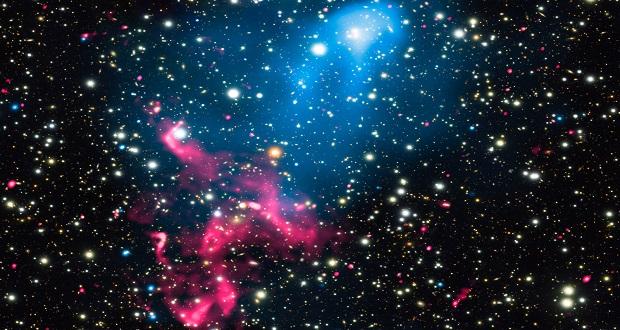 کشف شتاب دهنده ذراتی در مقیاس کیهانی