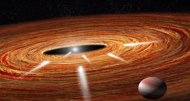 """کشف دنباله دارهای انتحاری """"کامیکازه"""" در ستاره ای نزدیک"""
