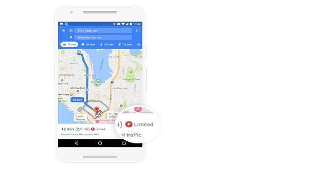 مشکل پارکینگ، ویژگی جدید گوگل مپ