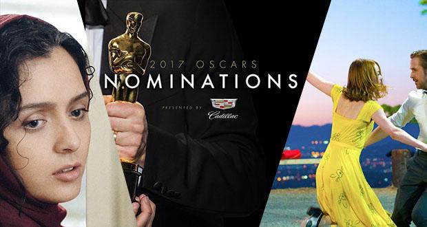لیست کامل نامزدهای اسکار 2017 معرفی شدند