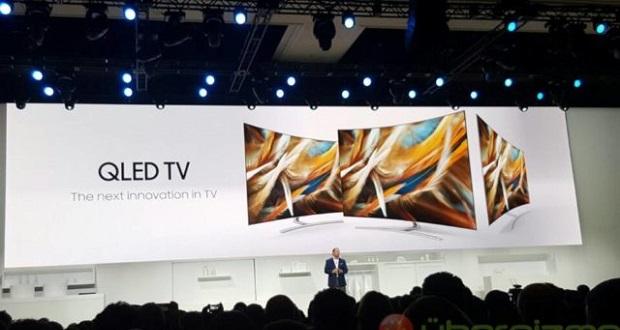 تلویزیون کیو ال ای دی سامسونگ در نمایشگاه CES 2017 رخ نشان داد