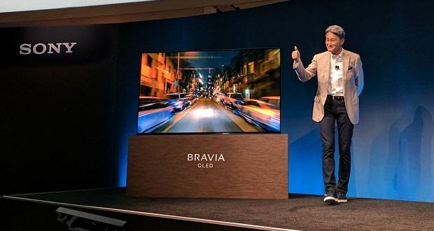 رونمایی از تلویزیون اولد 4K براویا سونی در نمایشگاه CES 2017