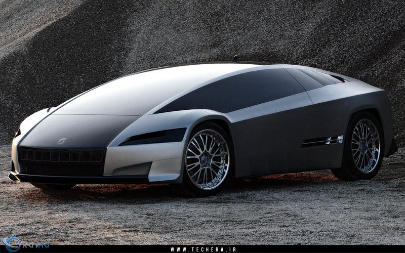 خودروی مفهومی Giugiaro Quaranta محصول شرکت طراحی آیتال دیزان دز سال 2008 میلادی